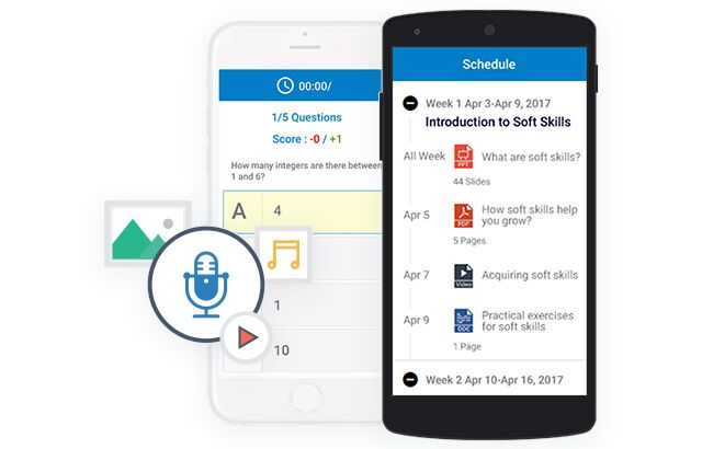 wiziq mobile learning app